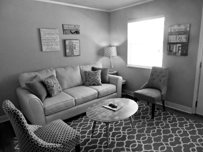 living-room bw